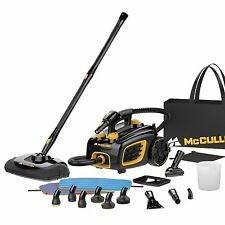 McCulloch MC1375 Canister Steam System With 20 Versatile Accessories