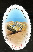 STAMP / TIMBRE FRANCE  N° 3799 ** SPORT / LE RALLYE RAID / VOITURE