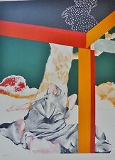 "RAFAEL BARTOLOZZI "" CAMPO "" HAND SIGNED lim. Edition lithograph SPANISH ARTIST"