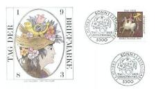 Germany 1983 FDC 1192a Day Stamp Blumen Flowers
