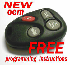 NEW OEM GM GMC CHEVY PONTIAC SATURN KEYLESS REMOTE ENTRY TRANSMITTER ABO1502T