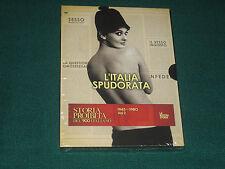 STORIA PROIBITA DEL '900 ITALIANO 1945-1980 VOL. 2 L' ITALIA SPUDORATA BOX 2 DVD