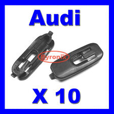AUDI A3 S3 LOWER DOOR PROTECTION STRIP MOULDING TRIM CLIPS BLACK PLASTIC