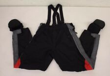 Harley-Davidson Heavy Nylon Wet Weather Motorcycle Pants w/Suspender Men's Med