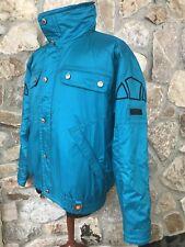 Mint Vintage 80's Ellesse Electric Blue Jacket Coat Men's It 50 Us 40 or size M