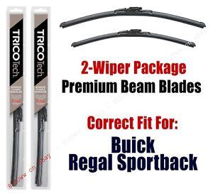 Wipers 2-Pk Premium Beam Wiper Blades fits 2018+ Buick Regal Sportback 19240/200