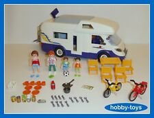 * PLAYMOBIL 4859 * FAMILY MOTORHOME / CAMPERVAN * 100% Complete * VGC *