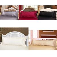 Super Soft Silk Body Pillow Cover Long Pillow Pillowcases 48x120cm 48x150cm