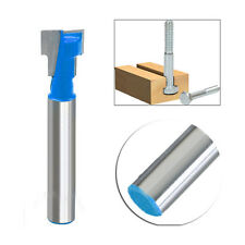 3/8'' T-Slot Cutter 1/4'' Shank Steel Handle Milling Woodworking Router Bit DIY