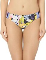 Trina Turk Women's 184927 Shirred Side Pant Bikini Bottom Swimwear Size 10