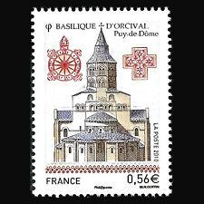 France 2010 - Tourism - Orcival Basilica Architecture - Sc 3797 MNH