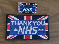 100% UK STOCK Thank You NHS Union Jack Flag Pin Badge Brooch patch doctor gift