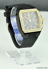 New Stylish 100% Original Ladies Watch GUESS Black Rubber New U0146L2