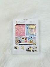 Becky Higgins Project Life Scrapbook Designs Lucky Charm Gold Value Kit 130 Pcs