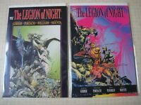The Legion of Night 1 2 complete set Marvel Comics Whilce Portacio Horror NM