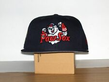 MILB PAWTUCKET RED SOX NEW ERA FITTED HAT 7 3/8