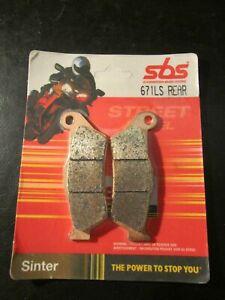 SBS REAR Sinter Brake Pads OE QUALITY 671LS REAR