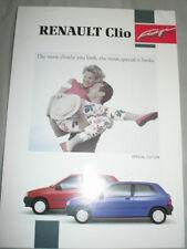 Renault Clio Fidji brochure Feb 1992
