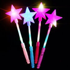Best LED Flashing Magic stick Wand Star Fairy Wand For Party Rave Kid Girl Toy
