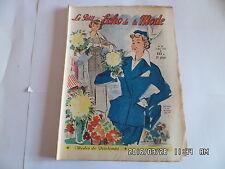 LE PETIT ECHO DE LA MODE N°10 5 MARS 1950     J31