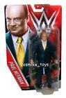 WWE WRESTLING BASIC SERIES SUPERSTAR MANAGER PAUL HEYMAN ACTION FIGURE MATTEL