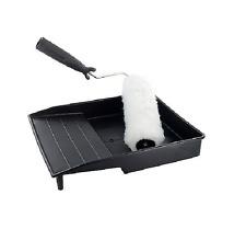 Large 22cm Paint Roller Tray Set Home Decorating Reuseable Plastic Tub Kit