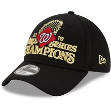 Men's Washington Nationals New Era 2019 World Series Champions Locker Room Hat