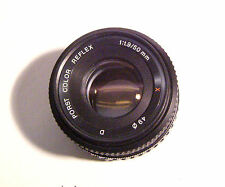 PORST Color Reflex x Lunghezza focale 50 mm 1:1,9 FUJICA/PORST baionetta