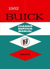 1962 Buick Special Service Shop Repair Manual Engine Drivetrain Electrical