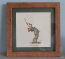 Bryn Parry Comic Country Hunting Dog - FRAMED PRINT - SECOND BARREL