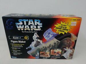 1997 Kenner - Star Wars POF Slave 1 Figure Maker - 3 Figure Molds - (w