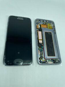 New Samsung Galaxy S7 Edge OEM G935 LCD Digitizer Screen Black - Frame