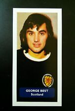 Manchester United / Scotland (!) GEORGE BEST - Score UK trade card