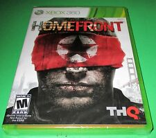 Homefront Microsoft Xbox 360 *Factory Sealed! *Free Shipping!