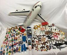 Vintage Playmobil Lot Airplane 40+ Figures 80+ Animals & Babies *See Description