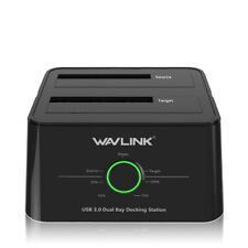 Wavlink USB 3.0 to SATA Dual Bay Hard drive Docking Station for SATA HDD/SDD