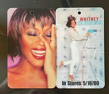 Whitney Houston Greatest Hits Double Sided Lanyard Card