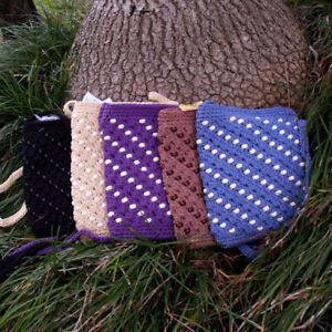 Crochet Bag With Beading