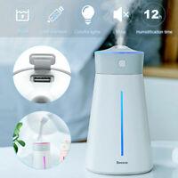Purificateur d'air Désodorisant Globe Air Ioniseur Humidificateur LED Mute