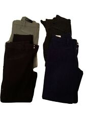4 X GAP skinny ankle trousers  UK 4 ( Waist 25.3 inc) Very good Condition