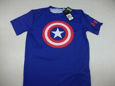 Under Armour Captain America Compression Shirt 1244399-402 Xl Nwt Alter Ego