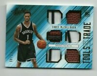 Chris McCullough 2015-16 Absolute Tools of the Trade Rookie JSY Ball Patch /49