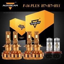 AUXBEAM H7+H7 LED Healight Canbus Bulbs H11 H8 Fog for BMW 325i 325xi 330xi 320i