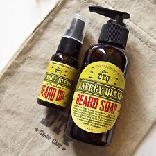 Energy Blend Beard Care Kit: Beard Soap & Beard Oil