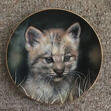 "Princeton Gallery 1992 Limited Edition Lynx Cub ""Big Cat Collection"""