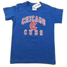 Vintage 90s NWT Chicago Cubs Blue Red Logo Single Stitch Youth L (14-16) T Shirt