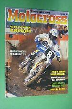 MOTOCROSS 8 AGOSTO 1994 YAMAHA TT 600 E CAGIVA 600 W16 W 16 MAICO MX 250 e 440