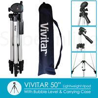 """50"""" Travel Tripod for NIKON D5300 D5200 D3300 D3200 D7200 D7100 DSLR Camera"""