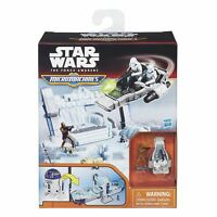 Star Wars The Force Awakens Micro Machines R2-D2 Playset Chewbacca Snowspeeder