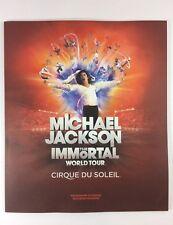 Michael Jackson The Immortal World Tour Cirque Du Soleil Souvenir Program